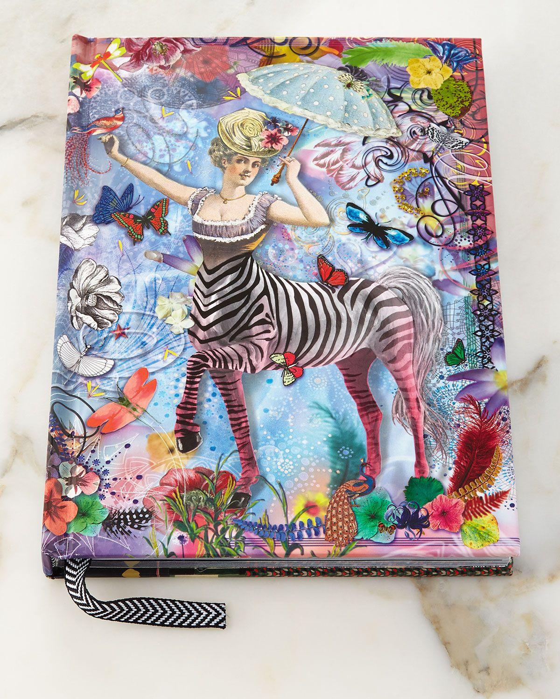 Zebra Girl Hardbound Journal - Christian Lacroix