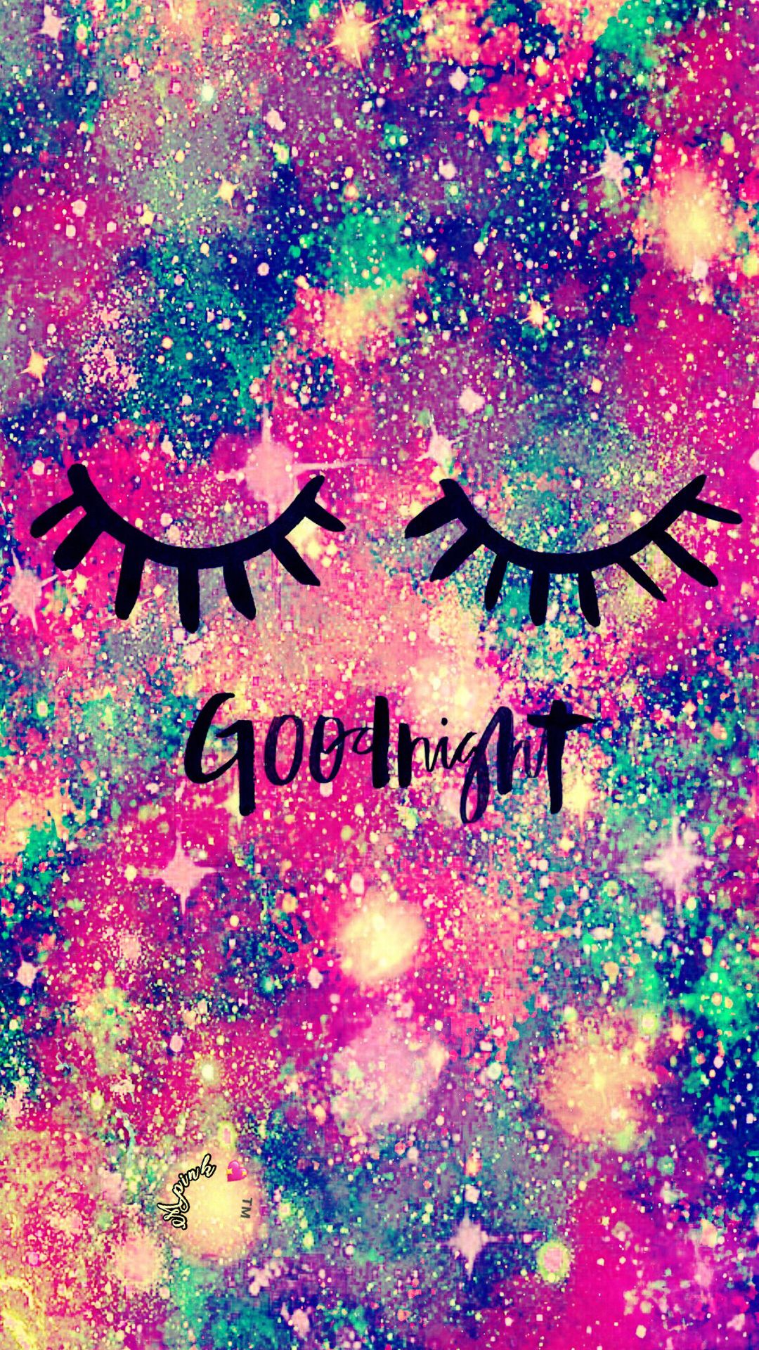 Good Night Galaxy Wallpaper Androidwallpaper Iphonewallpaper