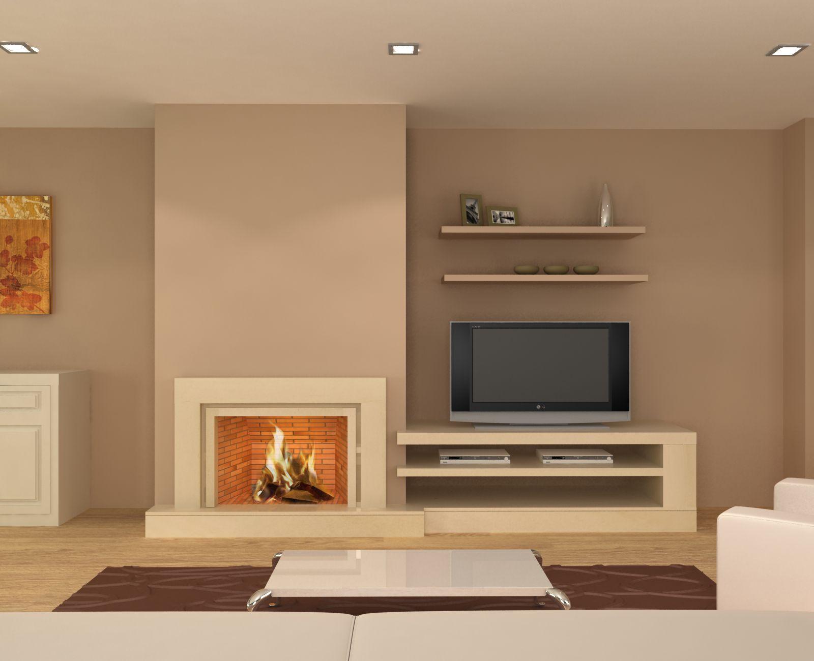 Resultado de imagen de decoracion chimeneas modernas | Chimeneas ...