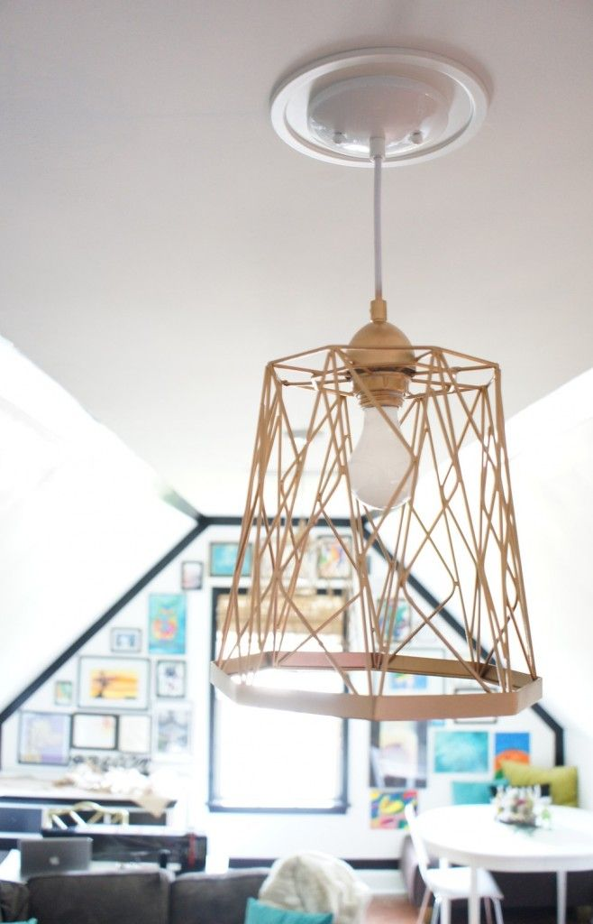 Trash Can Lights   Crafts   Pinterest   Lights, Creative and Diy light