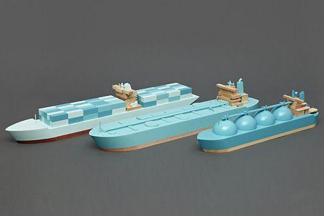 London-based design studio Postlerferguson, is releasing its own toy brand called Papa Foxtrot.