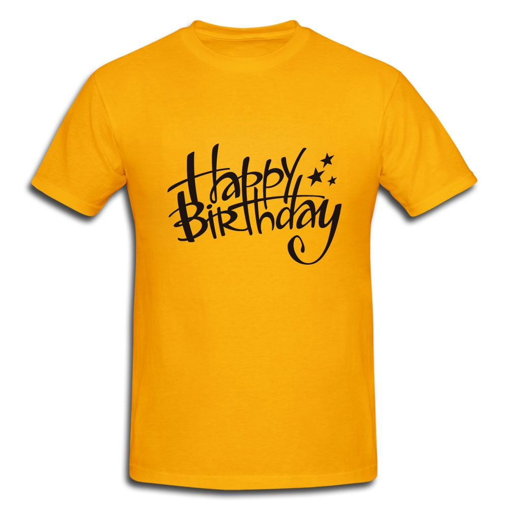 Gift A Happy Birthday T Shirt To Your Loved OnesDesign It By Own Create Designs Customize In Style And Say Unique