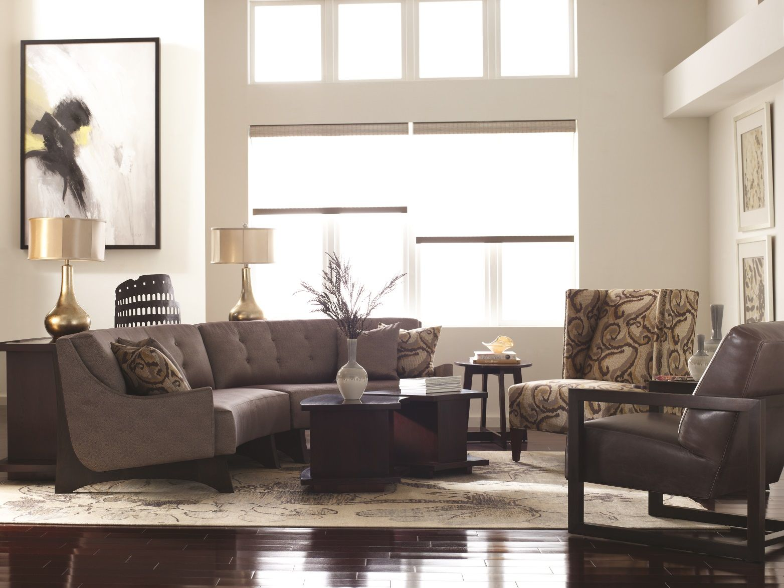 Stickley Highlands Sectional Sofa