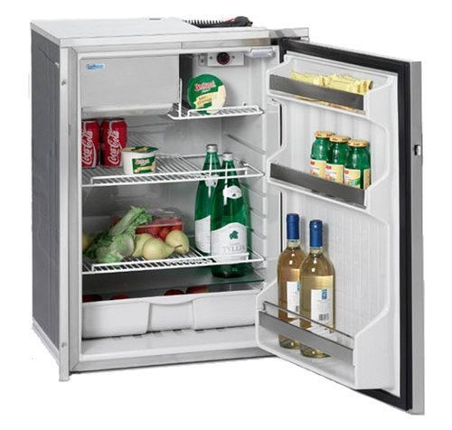 Indel Webasto C130rngit7 Isotherm Electric Refrigerator Freezer Ac Dc 4 6 Refrigerator Freezer Stainless Steel Refrigerator Stainless Steel Flanges