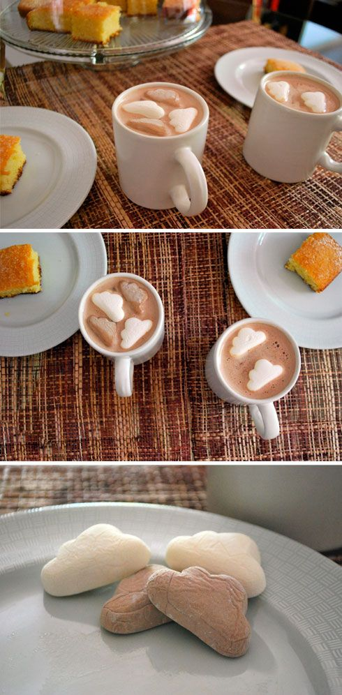 Adorable! breakfast cloud marshmallows