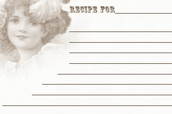 Sweetly Scrapped: {Free♥} Printable Recipe Cards