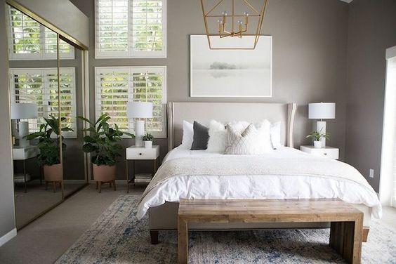 Habitaciones modernas Habitación moderna, Pequeña decoración de - decoracion de recamaras matrimoniales