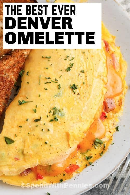 This classic Denver Omelet recipe is loaded with h