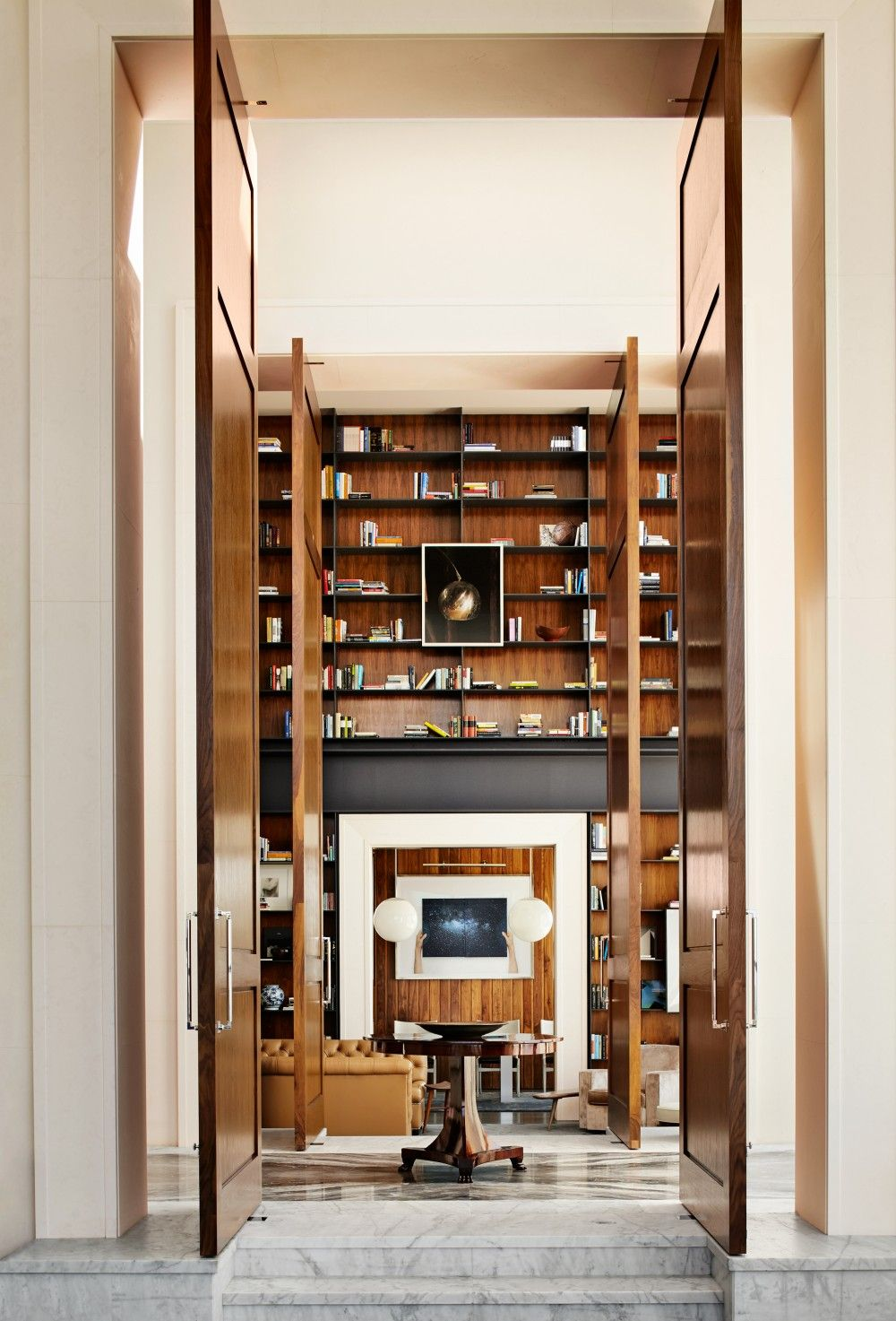 Entrance Hall By Dan Fink And Tim Murphy In Los Angeles Ca With