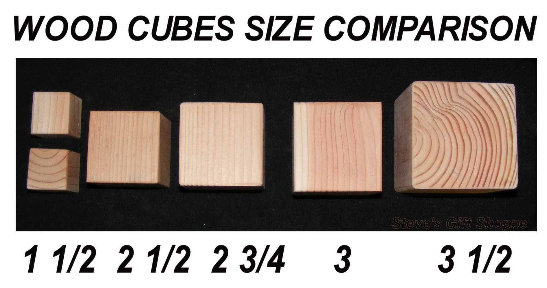 25inch Natural Unfinished Wood Blocks Set Of 80 Eighty Wooden Cubes