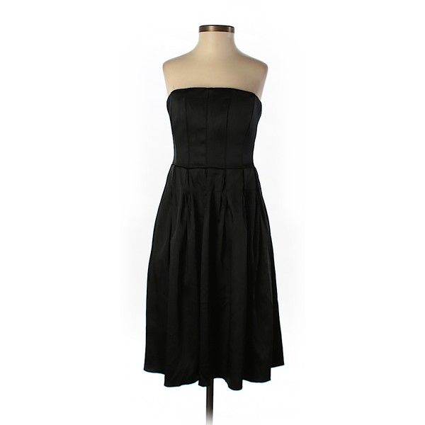 Pre-owned Calvin Klein Cocktail Dress Size 2: Black Women's Dresses ($38) ❤ liked on Polyvore featuring dresses, black, calvin klein cocktail dresses, preowned dresses, calvin klein dresses, calvin klein and pre owned dresses