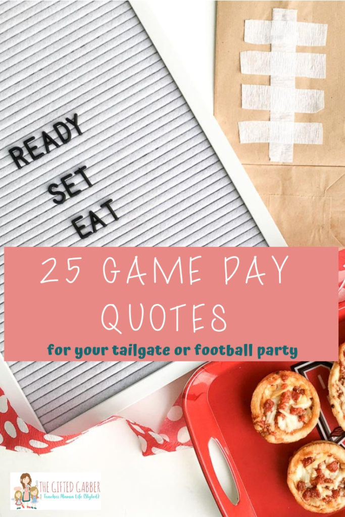 Game Day Quotes and Sports Slogans for a Sports Themed