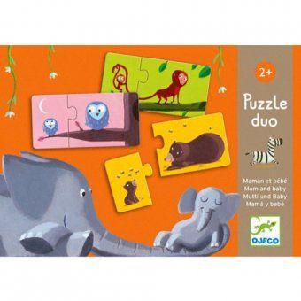 Puzzel duo - mama en baby