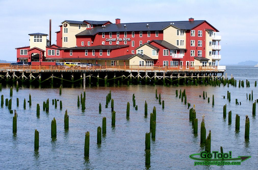 Highly Recommended For Your Stay While In Astoria Cannery Pier Hotel Oregon This Is Where You Go With The Husband