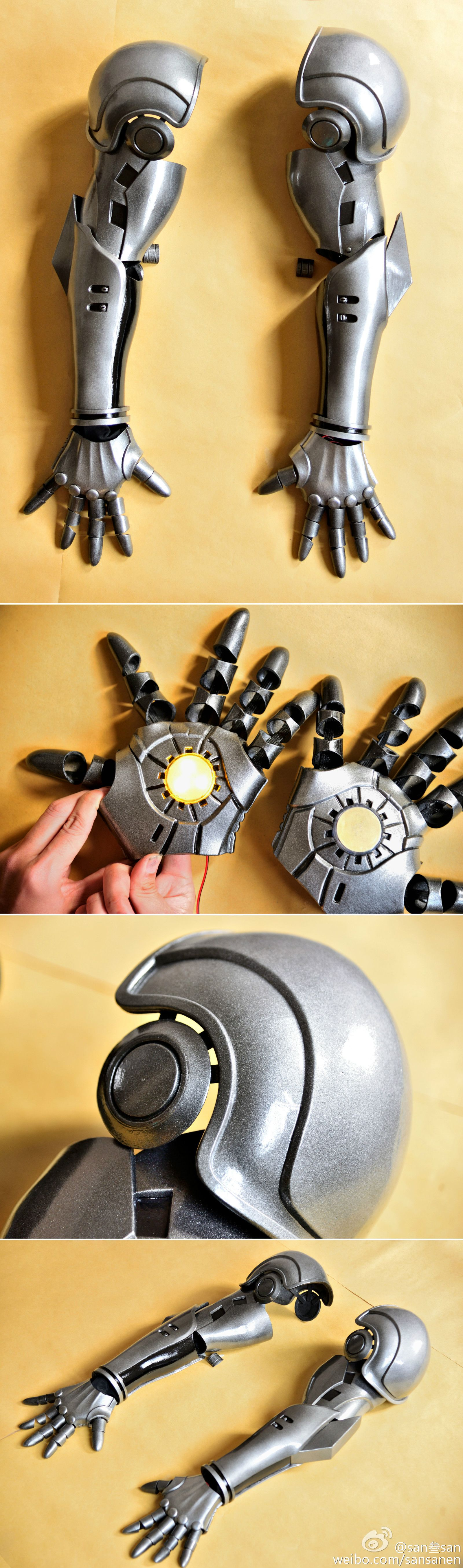 Excellent Work On One Punch Man Genos Cyborg Arms