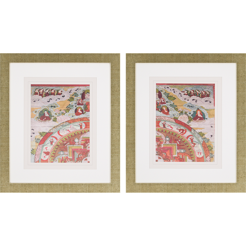 Antiquity I Pk/2. Bobby Sikes. Asian motifs are updated in ...