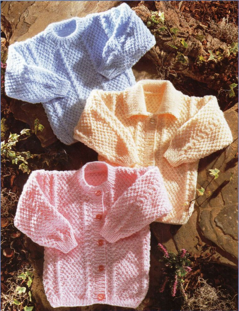 Digital Download PDF Vintage Knitting Pattern Child's Aran ...