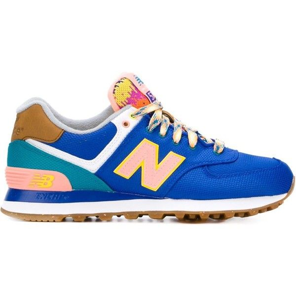 Abreviatura Todos Hobart  New Balance Neon Mountain 574 Sneakers | Neon shoes, Neon sneakers, Blue  sneakers