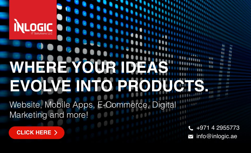 Inlogic One Stop Shop For It Solutions Web Portal Mobile Apps Ecommerce Sharepoint Https Inlogic Ae Web Design Online Web Design Web Design Tips