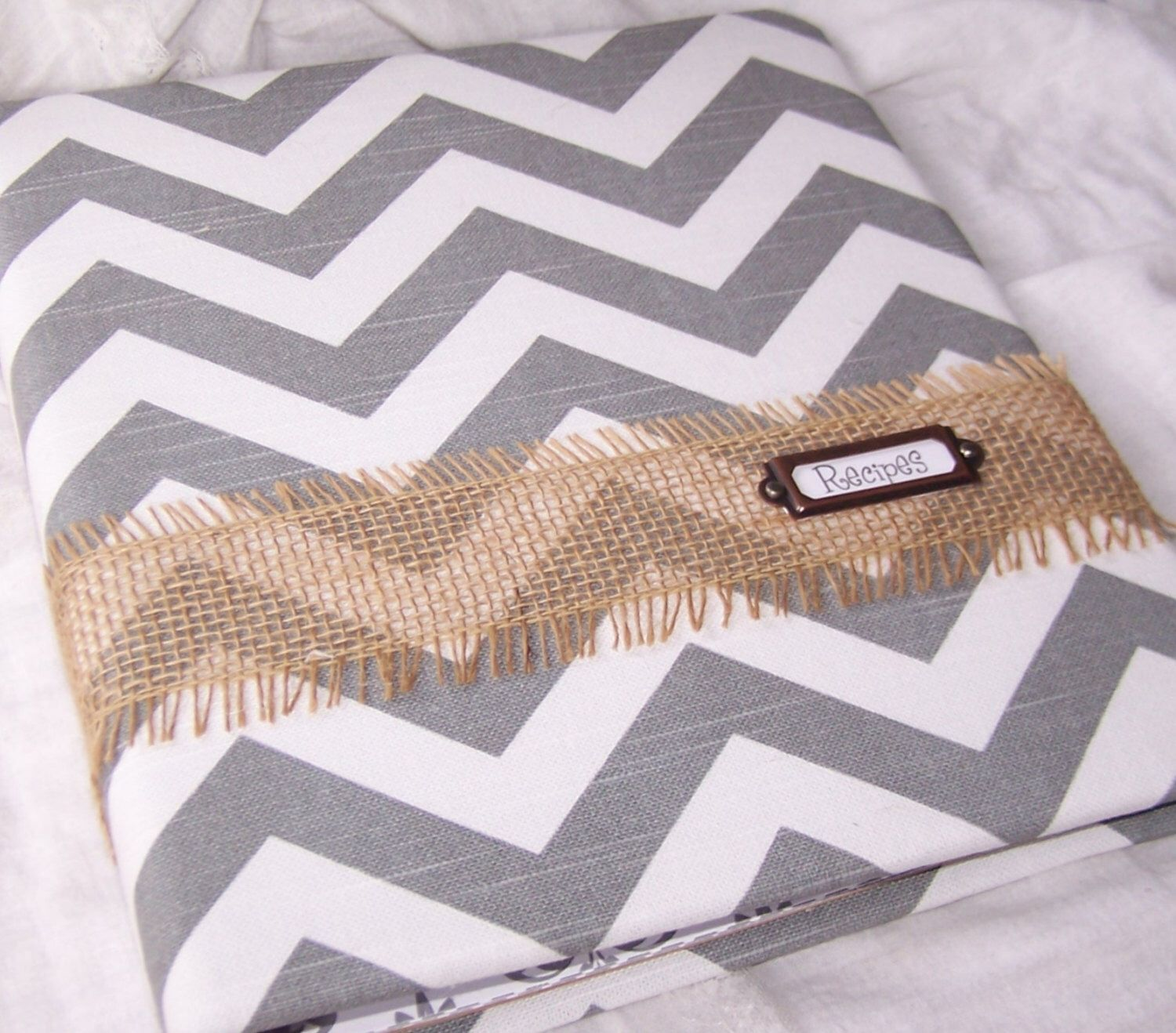 Dividers, Gray And White Chevron With