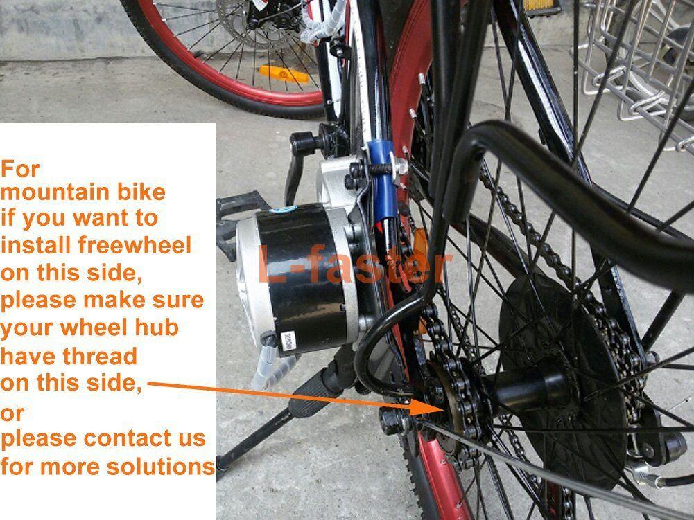 24v36v 450w Electric Bike Conversion Kit Electric Bicycle Motor Kit Diy E Scooter Motor Kit Electric Vehicle Change Set Amazon Ca Sports Outdoors Mit Bildern
