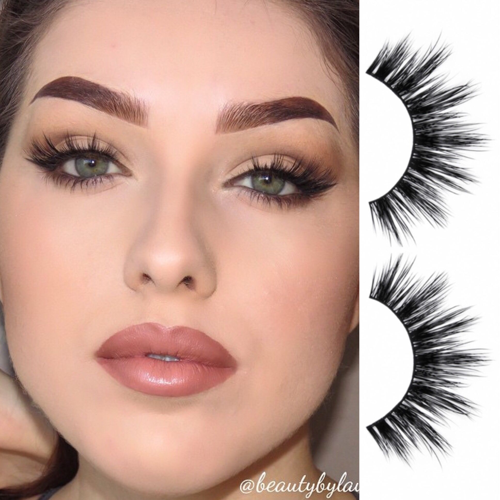 c49d0b38f4e Our doll-eyed No. 410 lashes | Medium Volume No. 410 in 2019 ...