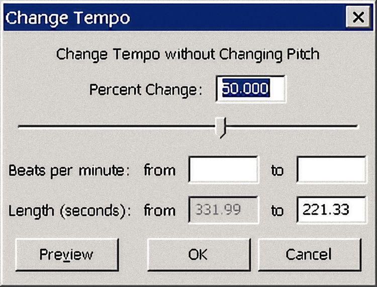 How To Change Pitch In Audacity