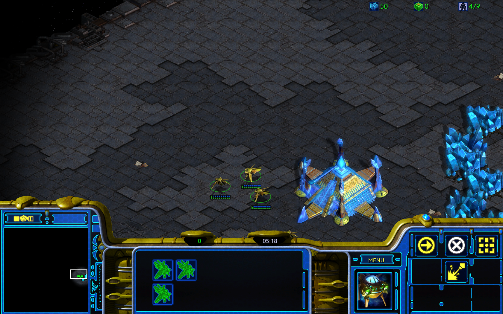 Updated Protoss UI Starcraft: Remastered #games #Starcraft
