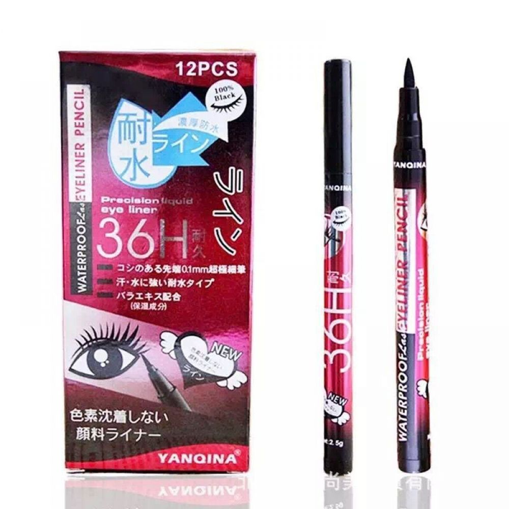 DHL free 360pcs=30sets Waterproof Eye Shadow & Eyeliner
