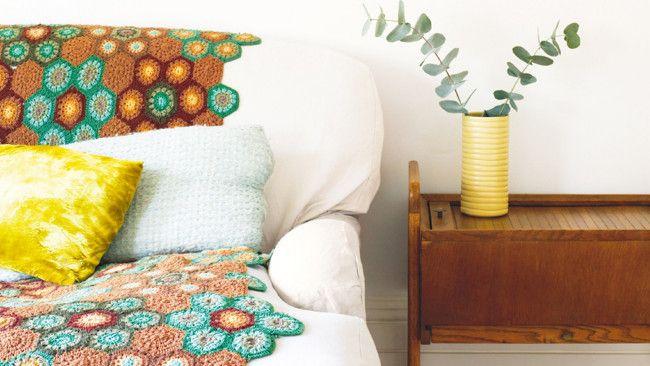Crochet a throw