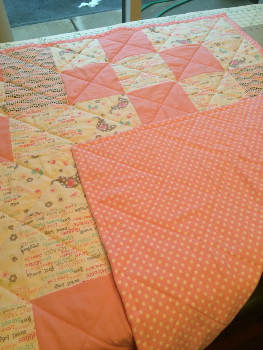 First baby quilt