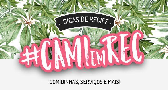 #CAMIemREC  Minha academia dermato delivery e restaurantes favoritos