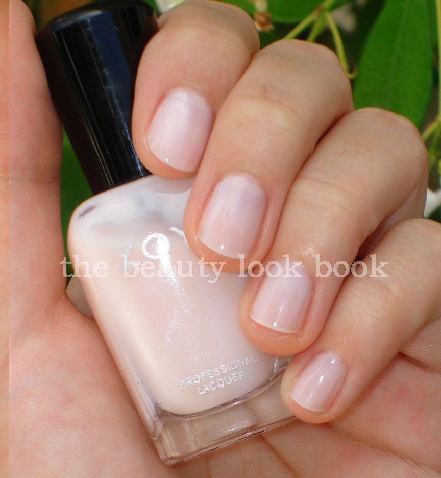 The Beauty Look Book: Zoya Sabrina neutral nail color   My Style ...