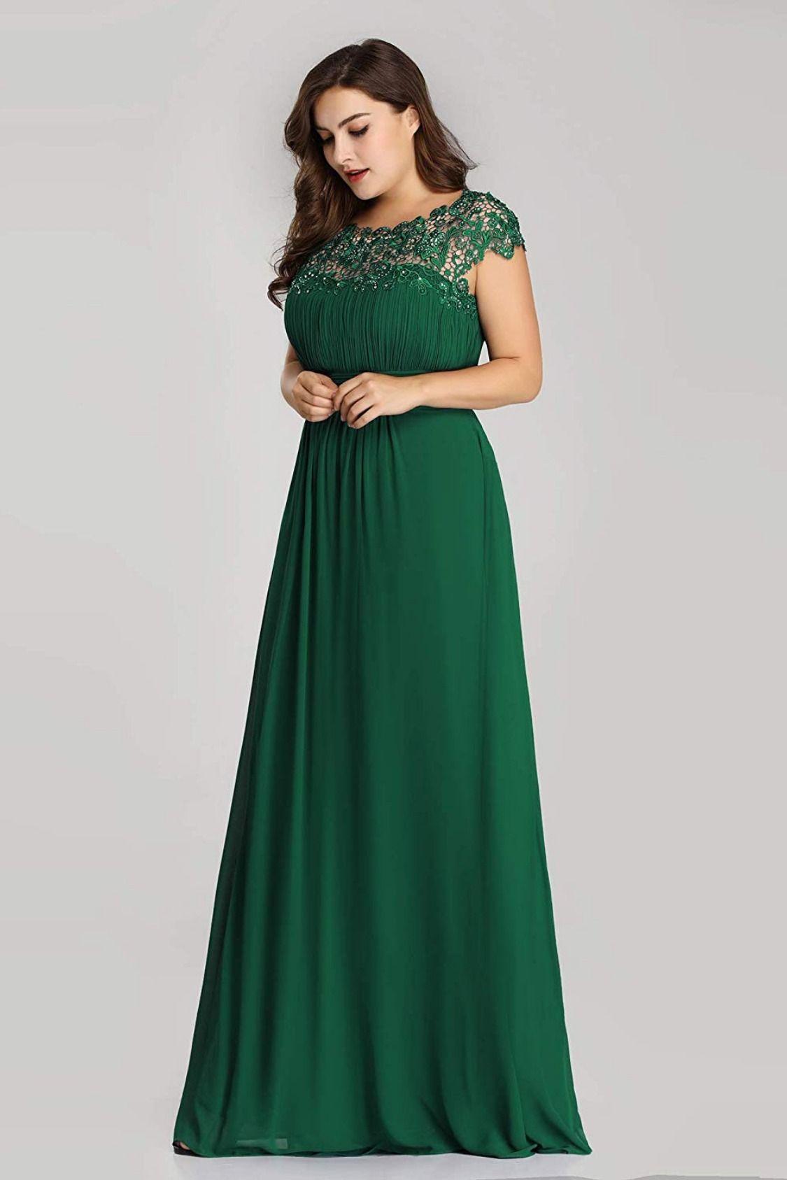 Women/'s Plus Size Formal Evening Lace Long Maxi Dress Party Cocktail Bridesmaid