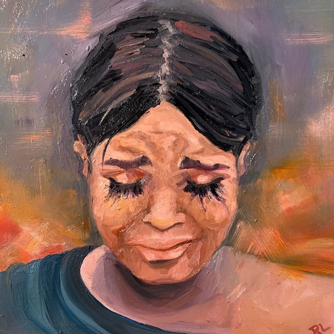 "Portrait of a Hero: Darnella Frazier"" by Rebecca Lazinger 