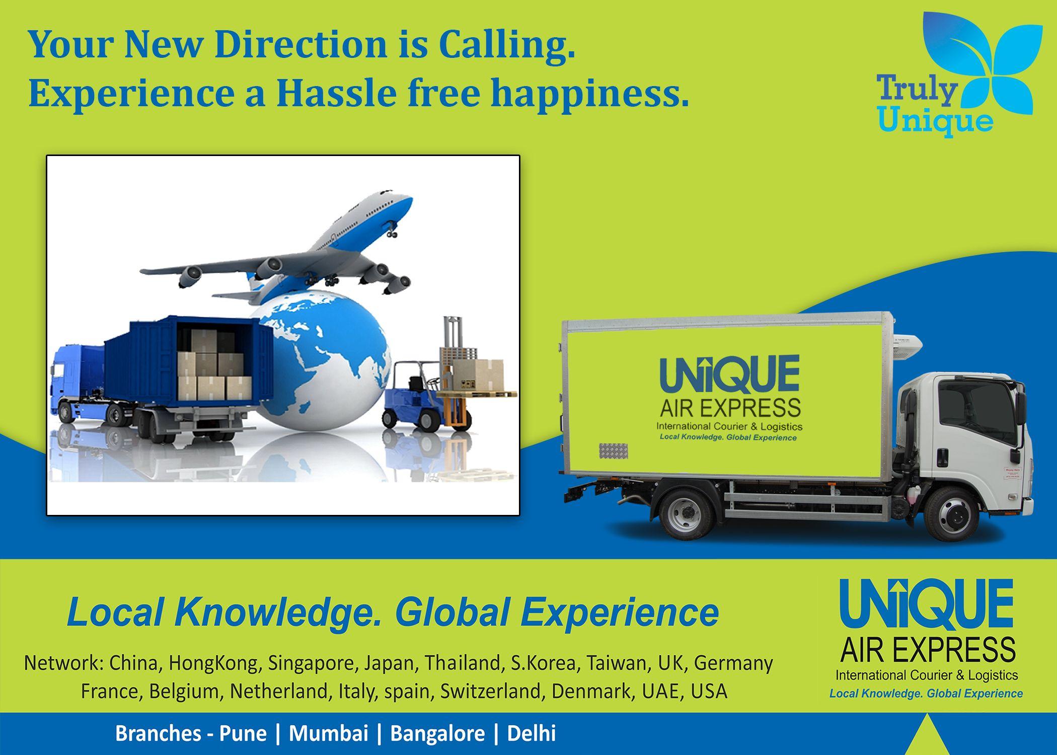 Unique Air Express Courier companies, Courier