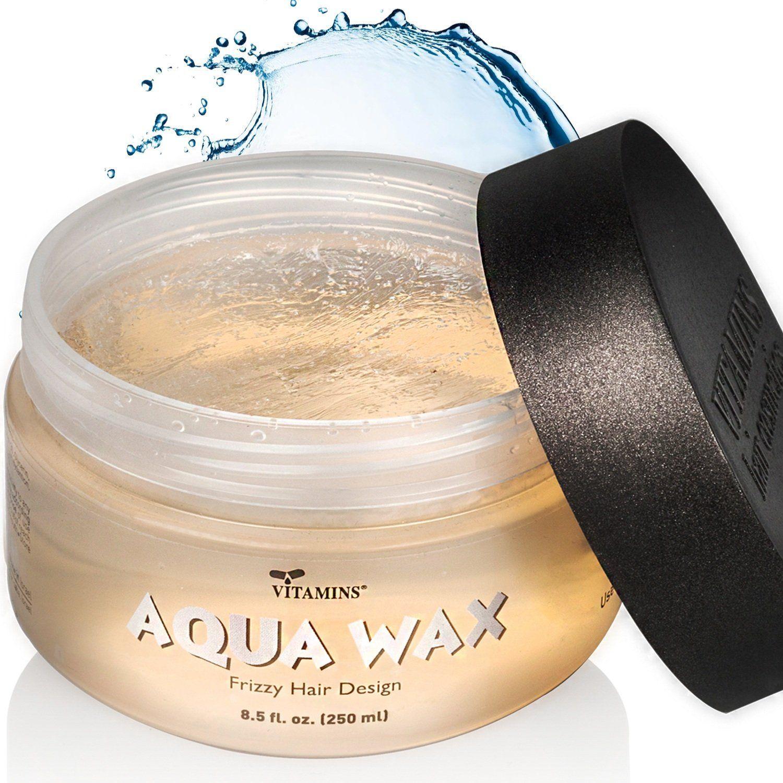 Aqua Hair Wax Anti Frizz Styling Gel Best Hair Gel Wax Anti Frizz Styling Solution For Men Women Molds And Sculp Hair Wax Anti Frizz Products Diy Hair Gel