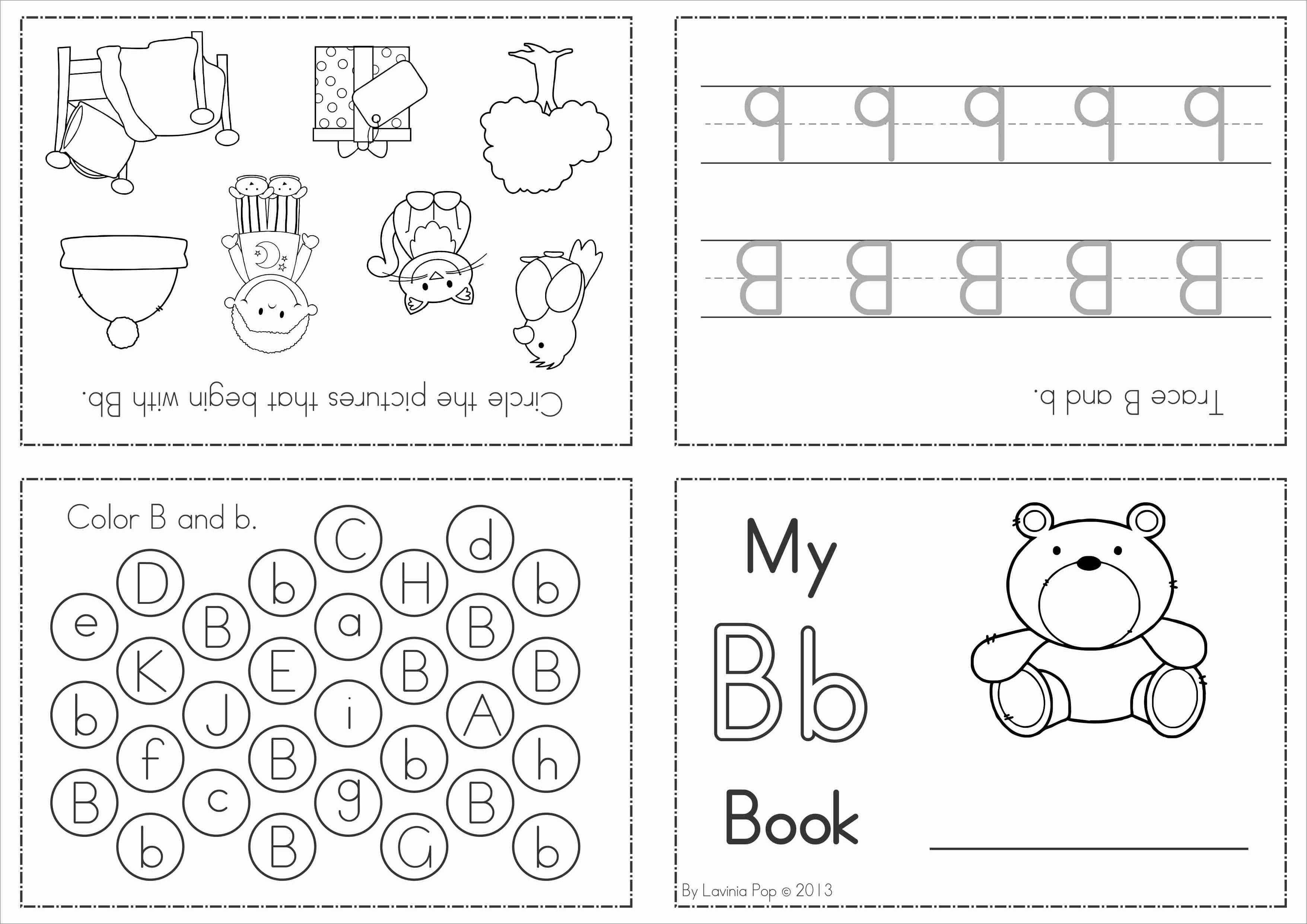 Alphabet Phonics Letter Of The Week B School