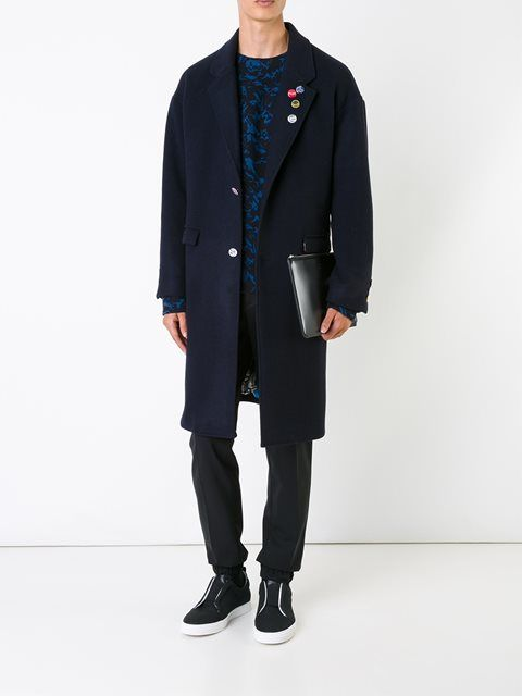 Doublet single breasted coat