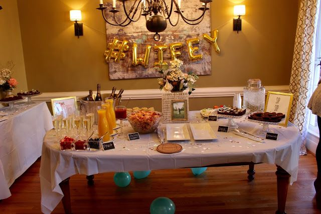 How to throw a bridal shower on a budget! #party #inspiration #wedding #mimosabar