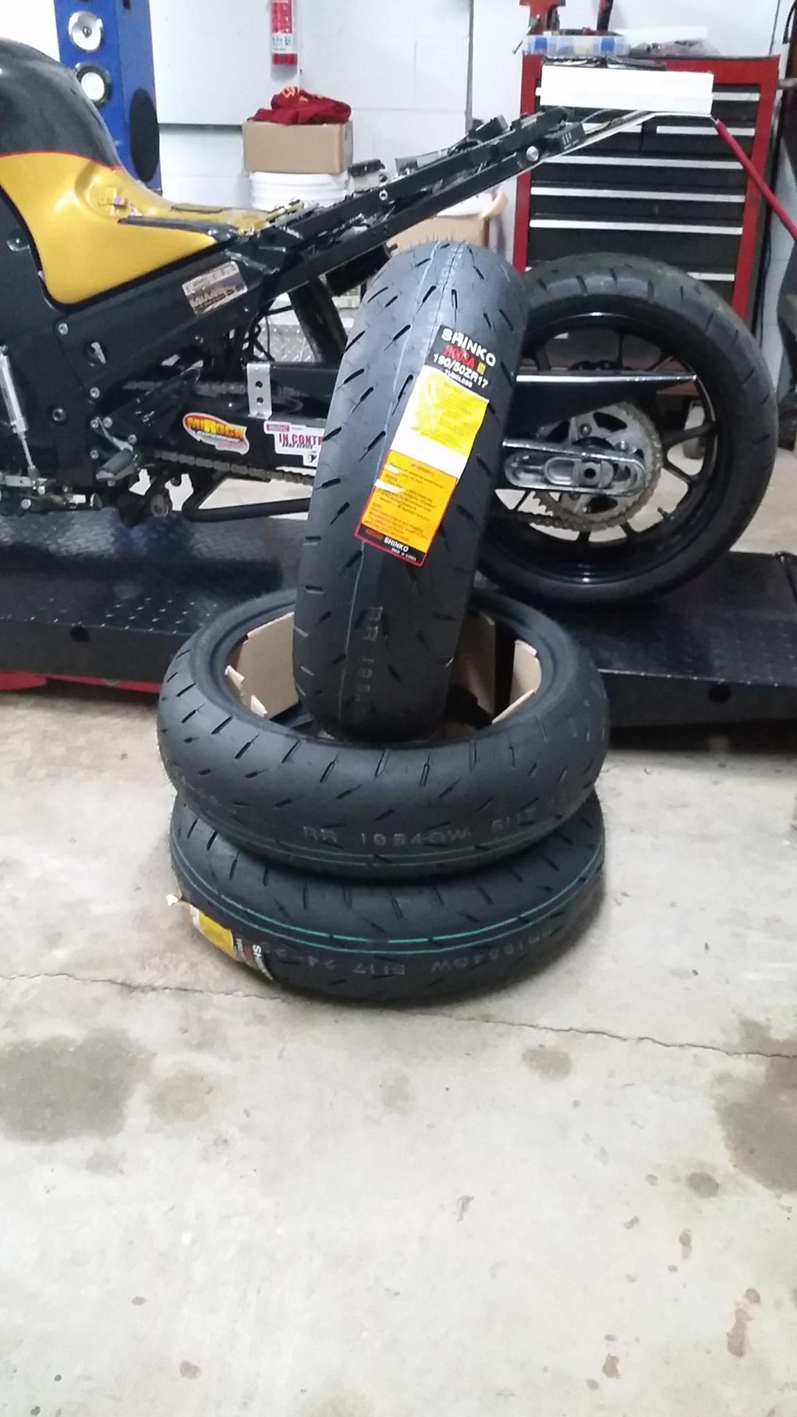 Shinko hook up tires for sale