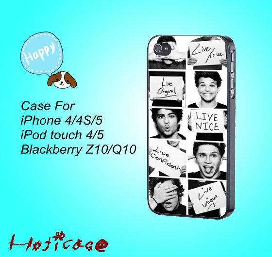 iphone 4 case,iphone 4s case,iphone 4 cases,iphone 5 case,One Direction,in plastic,silicone,cute ipod 4 case,cute ipod 5 case,cute iphone 5  by Hoticase, $14.88