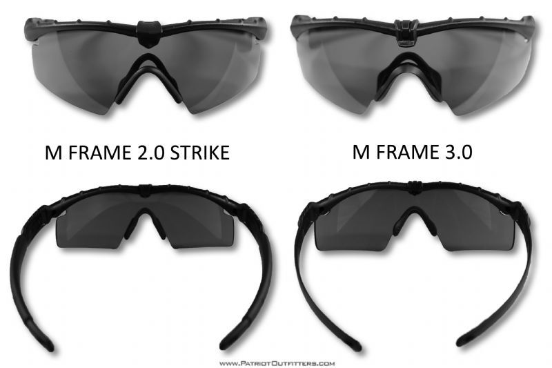 nascita Carota geneticamente  Difference between an Oakley M Frame 3.0 and an Oakley M Frame 2.0 Strike |  Military boots, Oakley tactical, Tactical glasses
