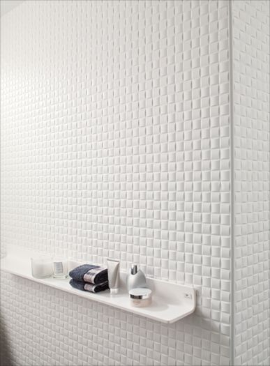 Porcelanosa Oxo Mosaic Blanco The Bathroom Tile