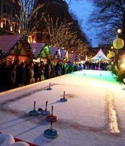 Winter World Berlin: curling
