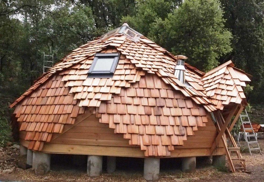 maison sur pilotis Dome house Pinterest House