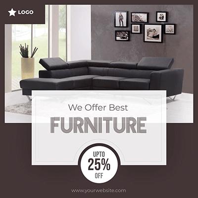 Furniture Post Social Media Design Inspiration Social Media