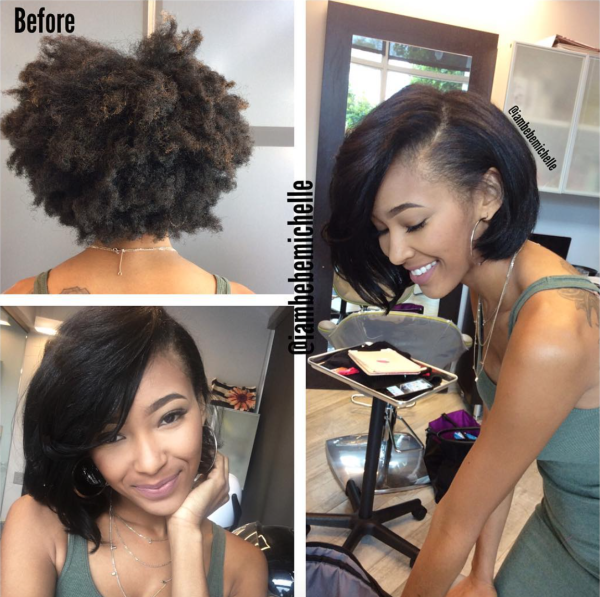 Lovely Silk Press Via Iambebemichelle Black Hair Information Natural Hair Silk Silk Press Natural Hair Natural Hair Styles
