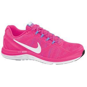 b7c3bbf5cfcc Nike Dual Fusion Run 3 - Women s - Hyper Pink University Blue White ...