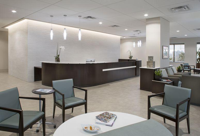 chiropractic lobby design georgia | waiting & reception
